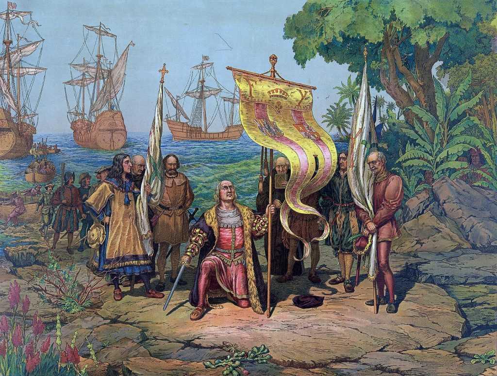 Momen dimana Christopher Columbus menemukan benua Amerika merupakan salah satu peristiwa penting dalam era kolonialisme