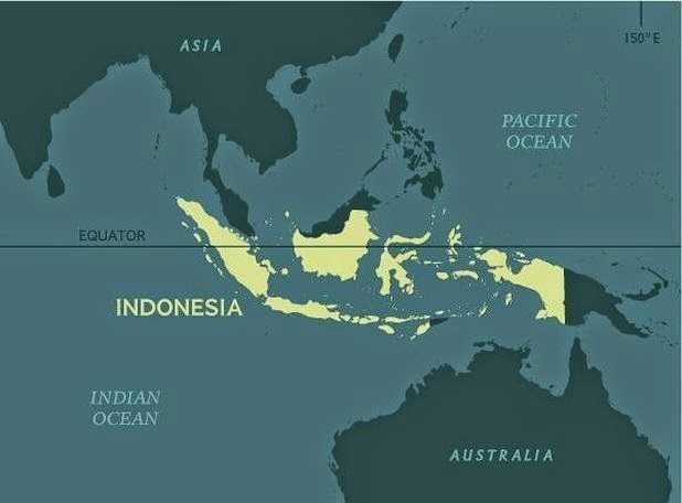 Letak Geografis Negara Indonesia