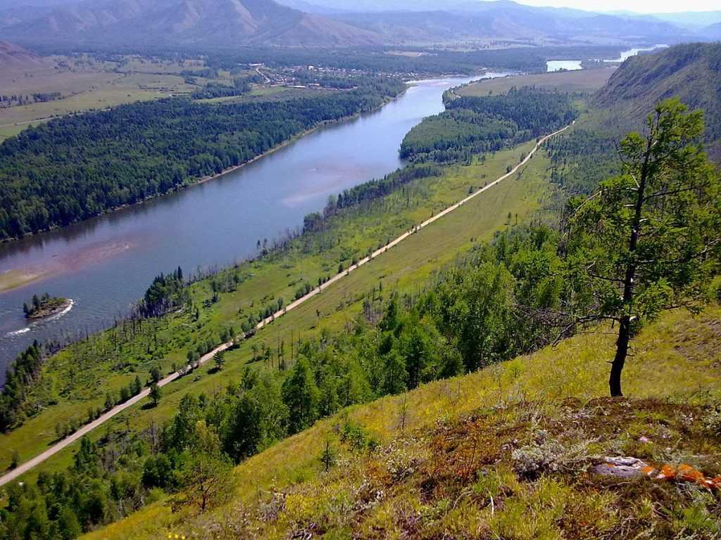 Sistem sungai Yenisey-Anggara merupakan sistem sungai terbesar yang bermuara di laut Arktik