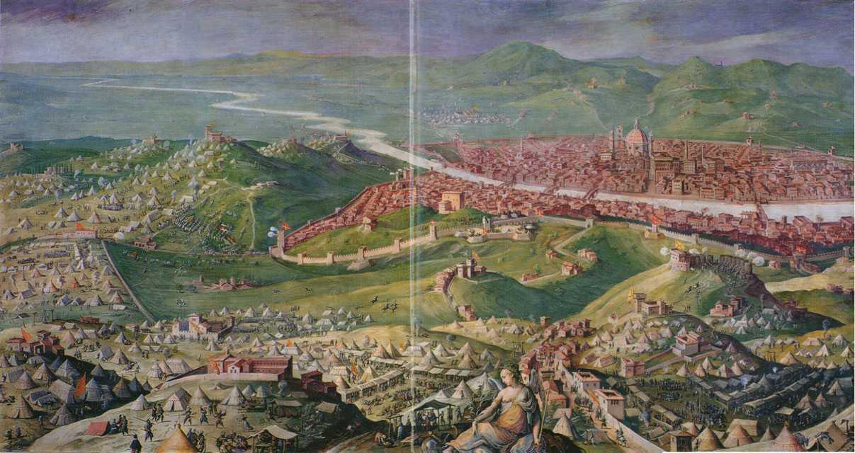 Karena perjanjian Zaragoza, Spanyol dapat berfokus pada peperangan liga Cognac di Eropa